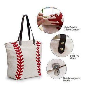Handbags - Baseball Tote